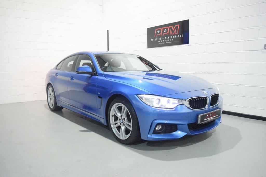 USED 2015 65 BMW 4 SERIES 2.0 420D M SPORT GRAN COUPE 4d 188 BHP
