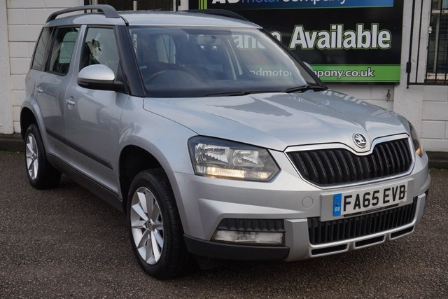 USED 2016 65 SKODA YETI 2.0 OUTDOOR S TDI SCR 5d 109 BHP 1 Owner, 4 Service Stamps, Bluetooth, Air Conditioning