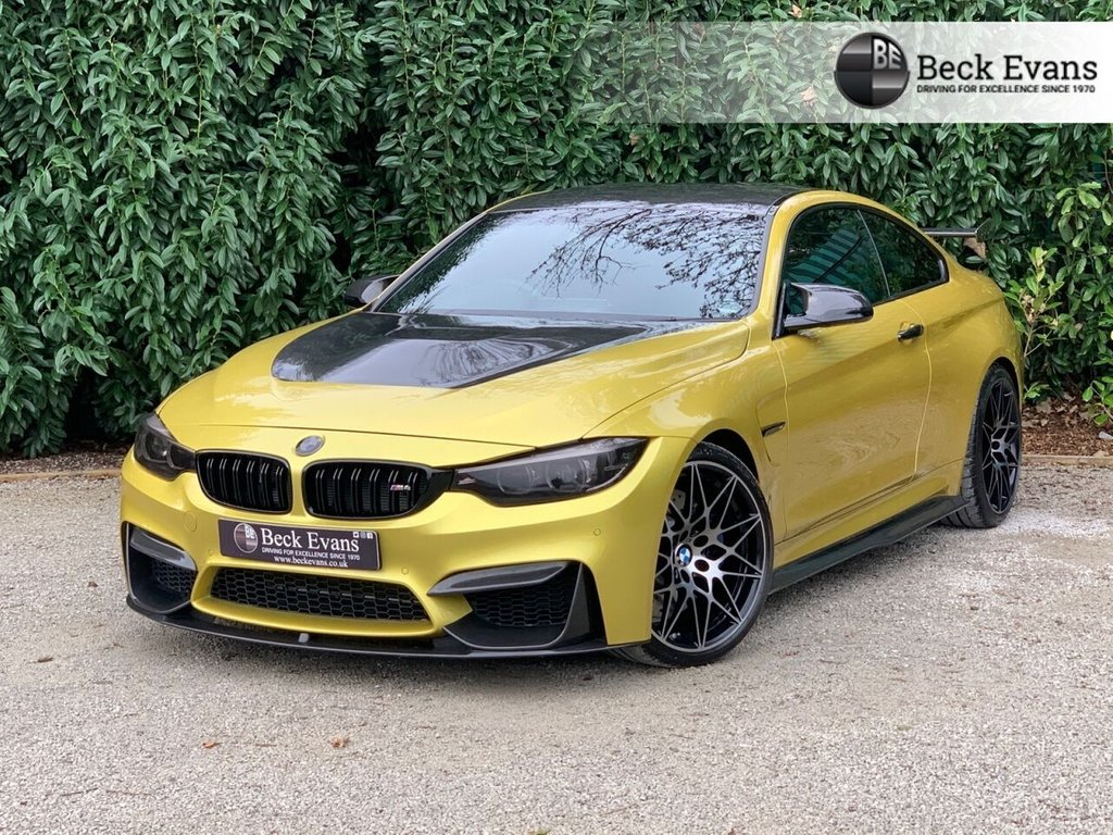 USED 2018 68 BMW M4 3.0 M4 COMPETITION 2d 444 BHP GTS BODYKIT