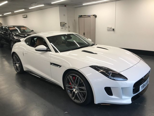 USED 2014 14 JAGUAR F-TYPE 5.0 R 2d 550 BHP