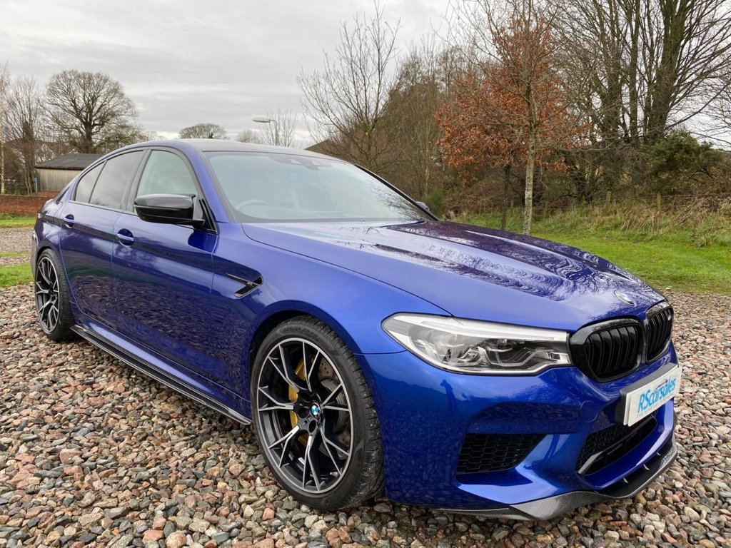 USED 2019 M BMW M5 4.4 M5 COMPETITION 4d 617 BHP