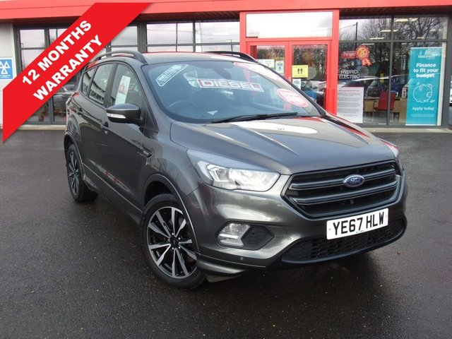 USED 2017 67 FORD KUGA 1.5 ST-LINE TDCI 5d 118 BHP *****12 Months Warranty*****