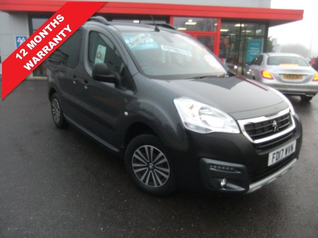 USED 2017 17 PEUGEOT PARTNER 1.6 BLUE HDI S/S TEPEE OUTDOOR 5d 100 BHP *****12 Months Warranty*****