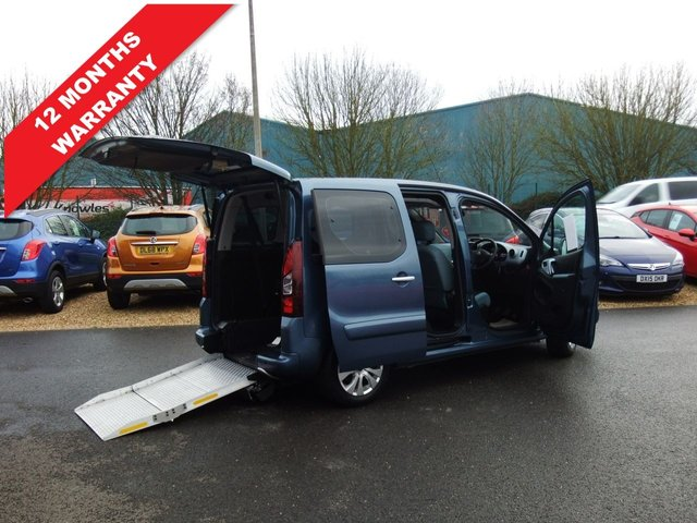 USED 2015 65 CITROEN BERLINGO MULTISPACE 1.6 HDI PLUS 5d 91 BHP *WAV WHEELCHAIR ACCESSVEHICLE*