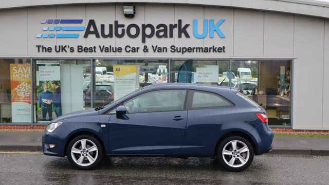 USED 2016 66 SEAT IBIZA 1.2 TSI FR 3d 89 BHP . LOW DEPOSIT OR NO DEPOSIT FINANCE AVAILABLE . COMES USABILITY INSPECTED WITH 30 DAYS USABILITY WARRANTY + LOW COST 12 MONTHS ESSENTIALS WARRANTY AVAILABLE FROM ONLY £199 (VANS AND 4X4 £299) DETAILS ON REQUEST. ALWAYS DRIVING DOWN PRICES . BUY WITH CONFIDENCE . OVER 1000 GENUINE GREAT REVIEWS OVER ALL PLATFORMS FROM GOOD HONEST CUSTOMERS YOU CAN TRUST .