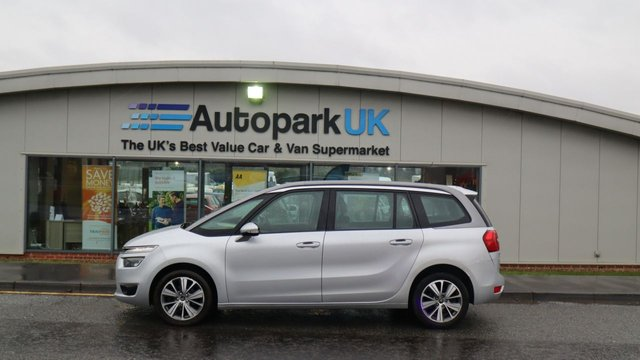 USED 2016 16 CITROEN C4 GRAND PICASSO 1.6 BLUEHDI VTR PLUS 5d 98 BHP . LOW DEPOSIT OR NO DEPOSIT FINANCE AVAILABLE . COMES USABILITY INSPECTED WITH 30 DAYS USABILITY WARRANTY + LOW COST 12 MONTHS ESSENTIALS WARRANTY AVAILABLE FROM ONLY £199 (VANS AND 4X4 £299) DETAILS ON REQUEST. ALWAYS DRIVING DOWN PRICES . BUY WITH CONFIDENCE . OVER 1000 GENUINE GREAT REVIEWS OVER ALL PLATFORMS FROM GOOD HONEST CUSTOMERS YOU CAN TRUST .