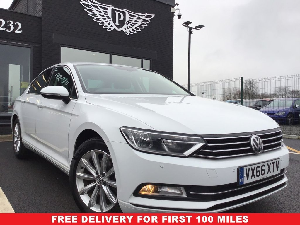 USED 2016 66 VOLKSWAGEN PASSAT 1.6 SE BUSINESS TDI BLUEMOTION TECHNOLOGY 4d 119 BHP CLEAN EXAMPLE , LOW MILEAGE