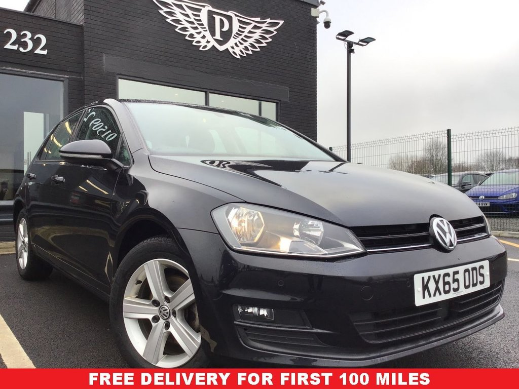 USED 2015 65 VOLKSWAGEN GOLF 2.0 MATCH TDI BLUEMOTION TECHNOLOGY DSG 5d 148 BHP NATIONWIDE DELIVERY AVAILABLE!