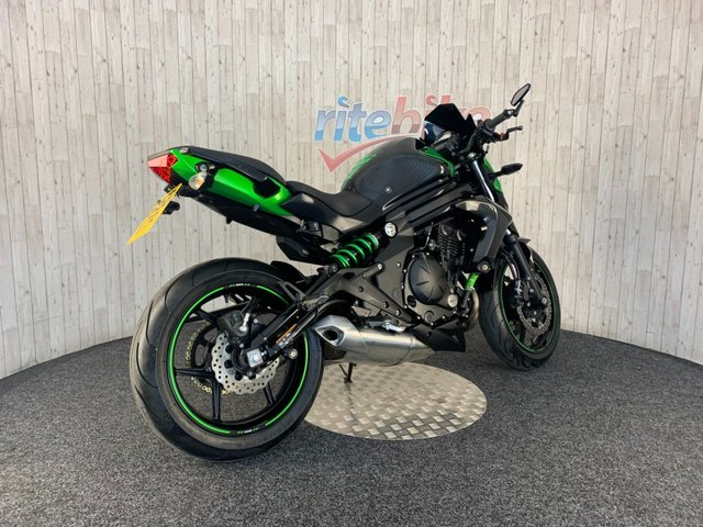 KAWASAKI ER-6N at Rite Bike