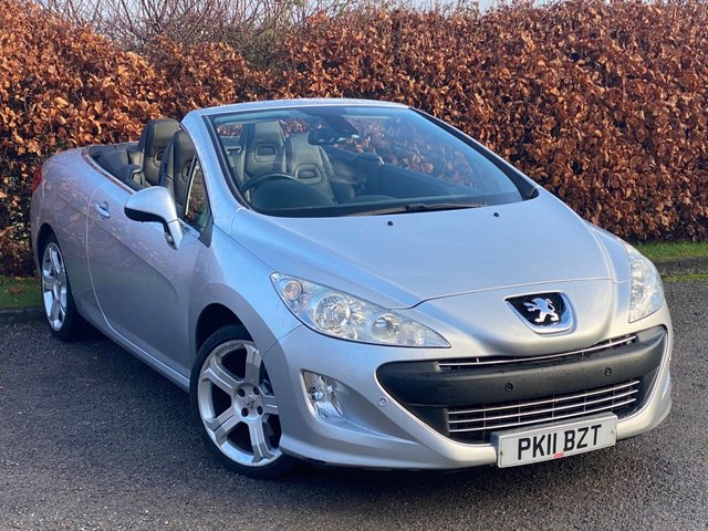 USED 2011 11 PEUGEOT 308 2.0 CC GT HDI 2d 140 BHP *FULL LEATHER HEATED SEATS*12 MONTHS FREE AA MEMBERSHIP*