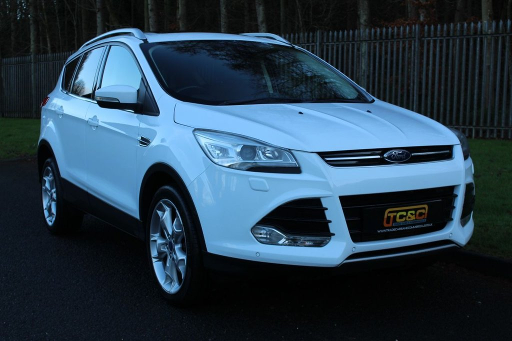 USED 2013 63 FORD KUGA 2.0 TITANIUM X TDCI 5d 160 BHP A STUNNING HIGH SPECIFICATION KUGA WITH A COMPREHENSIVE SERVICE HISTORY!!!