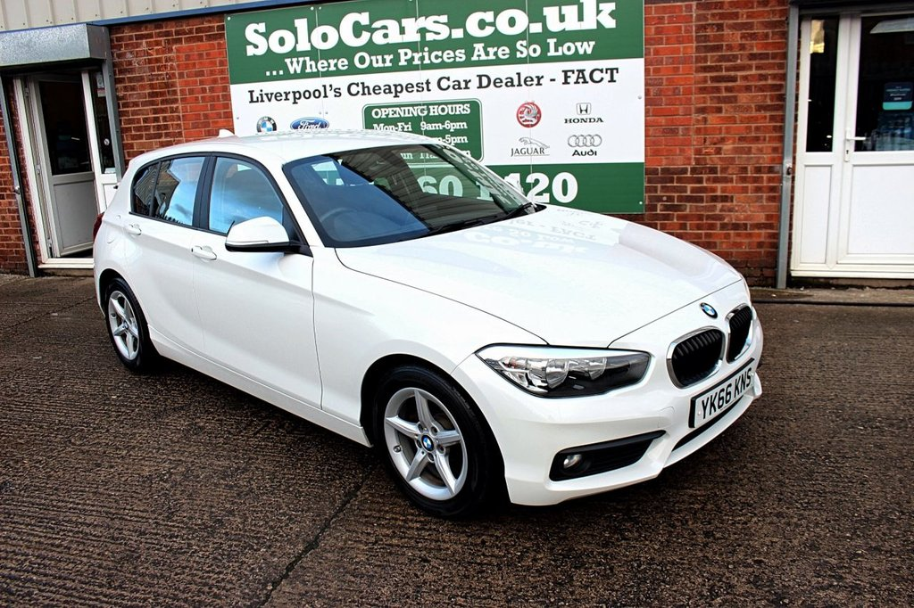 USED 2016 66 BMW 1 SERIES 1.5 116D ED PLUS 5d 114 BHP +LOW MILES +SAT NAV +DAB.