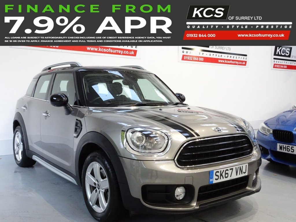 USED 2017 67 MINI COUNTRYMAN 1.5 COOPER 5d 134 BHP CHILI PACK- SAT NAV- HTD SEATS