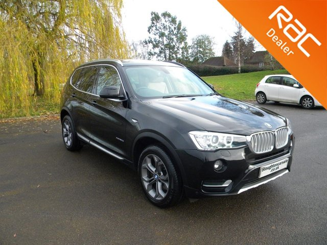 USED 2017 17 BMW X3 2.0 XDRIVE20D XLINE 5d 188 BHP BY APPOINTMENT ONLY - Full Leather, Heated Front Seats, Alloy Wheels, Rear Parking Camera, DAB Radio, Cruise Control, Sat Nav