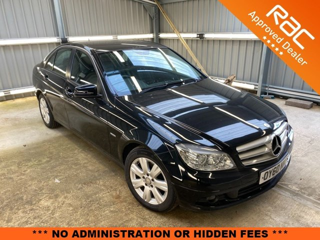 2010 60 MERCEDES-BENZ C-CLASS 2.1 C200 CDI BLUEEFFICIENCY EXECUTIVE SE 4d 136 BHP