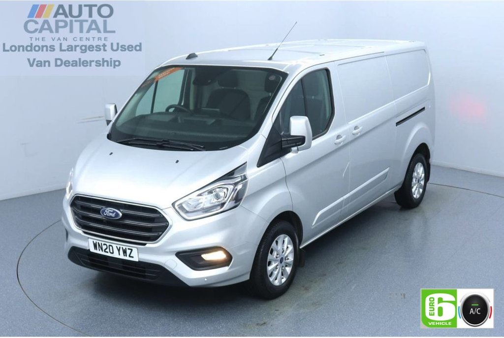 USED 2020 20 FORD TRANSIT CUSTOM 2.0 320 Limited EcoBlue 170 BHP L2 H1 Euro 6 Low Emission AppLink | Ford SYNC 3 | Apple CarPlay | Eco | Air Con | Start/Stop | F-R Sensors