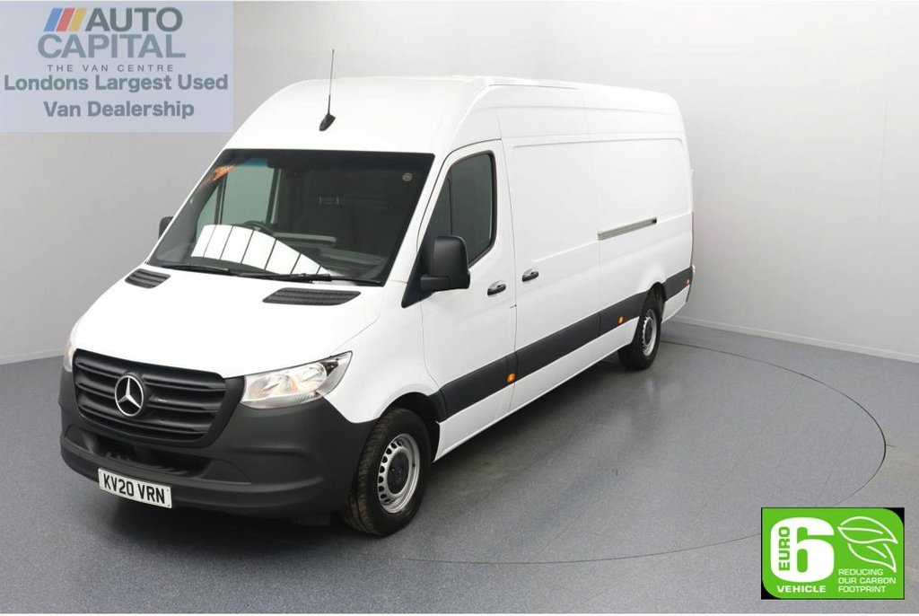 USED 2020 20 MERCEDES-BENZ SPRINTER 2.1 314 CDI RWD 141 BHP L3 H2 LWB Euro 6 Low Emission Finance Available Online   Keyless Go   Rear Wheel Drive   LWB   UK Delivery