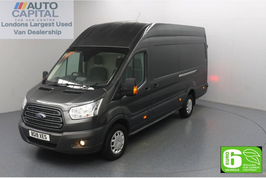 USED 2019 19 FORD TRANSIT 2.0 350 RWD Trend L4 H3 X-LWB 130 BHP Euro 6 Low Emission Finance Available Online | F-R Parking sensors | UK Delivery