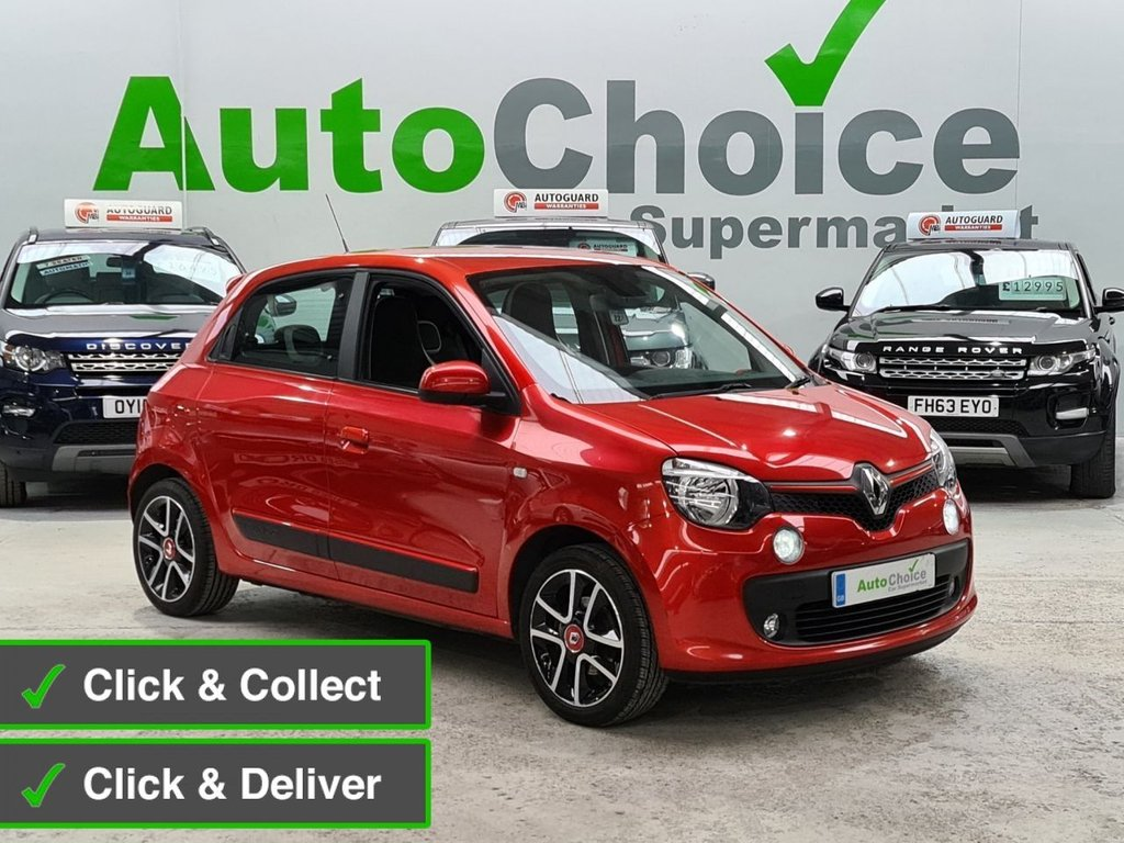 USED 2016 66 RENAULT TWINGO 0.9 DYNAMIQUE S ENERGY TCE S/S 5d 90 BHP