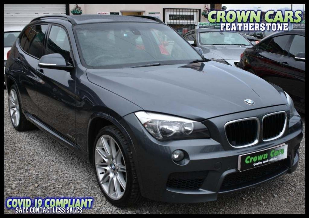 USED 2012 62 BMW X1 2.0 20d M Sport xDrive 5dr FREE FINANCE ELIGIBILITY CHECK