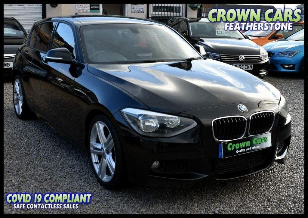 USED 2013 13 BMW 1 SERIES 2.0 116d M Sport 5dr FREE FINANCE ELIGIBILITY CHECK
