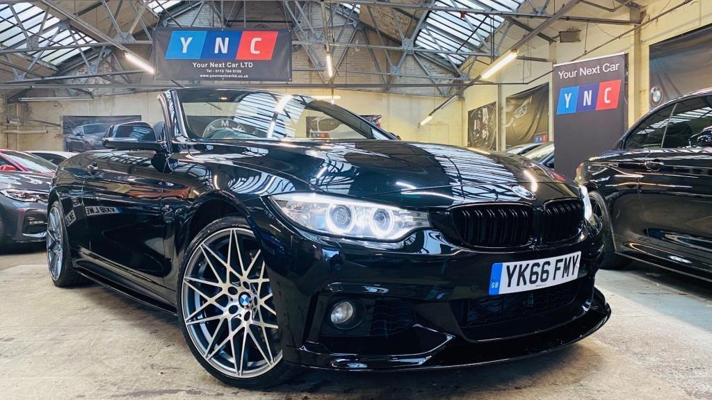 USED 2016 66 BMW 4 SERIES 3.0 435d M Sport Auto xDrive 2dr PERFORMANCEKIT+COMFORT&MPLUS