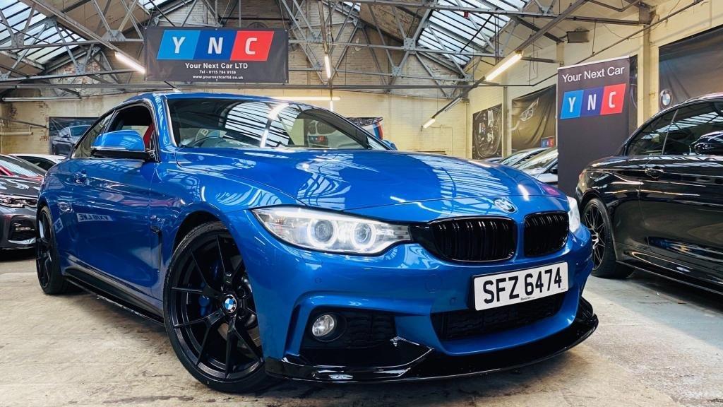 USED 2014 BMW 4 SERIES 3.0 430d M Sport Auto 2dr PERFORMANCEKIT+20S+MPLUSBRAKES