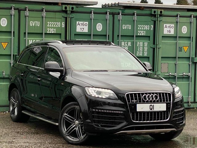USED 2015 64 AUDI Q7 3.0 TDI S line Sport Edition Tiptronic quattro 5dr BUY ONLINE + FREE DELIVERY