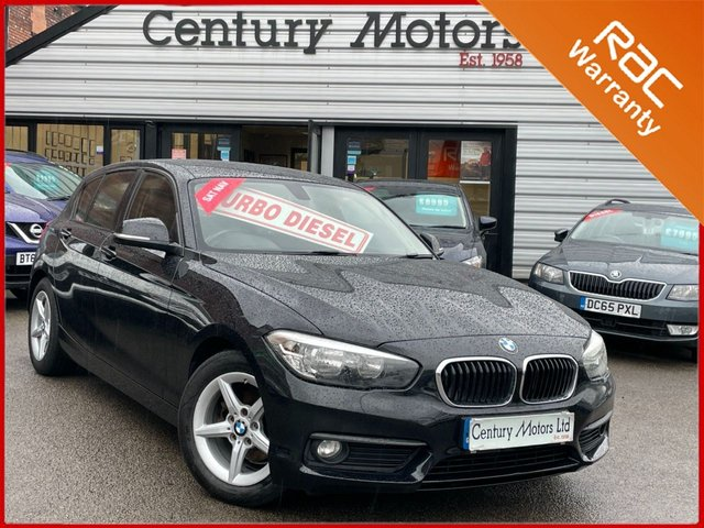 2015 65 BMW 1 SERIES 116D ED Plus Black 5dr - SAT NAV