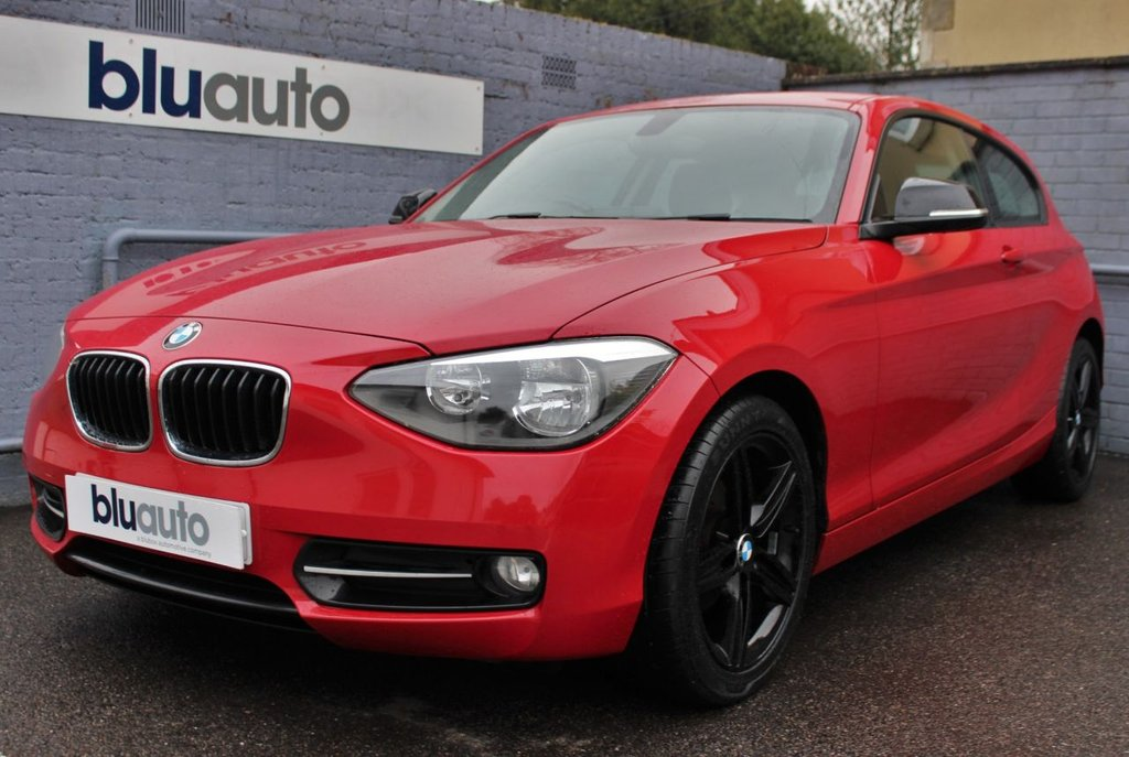 "USED 2014 14 BMW 1 SERIES 1.6 116I SPORT 3d 135 BHP Satellite Navigation, Cruise Control, Keyless Start, Bluetooth, 17"" Upgraded alloys"