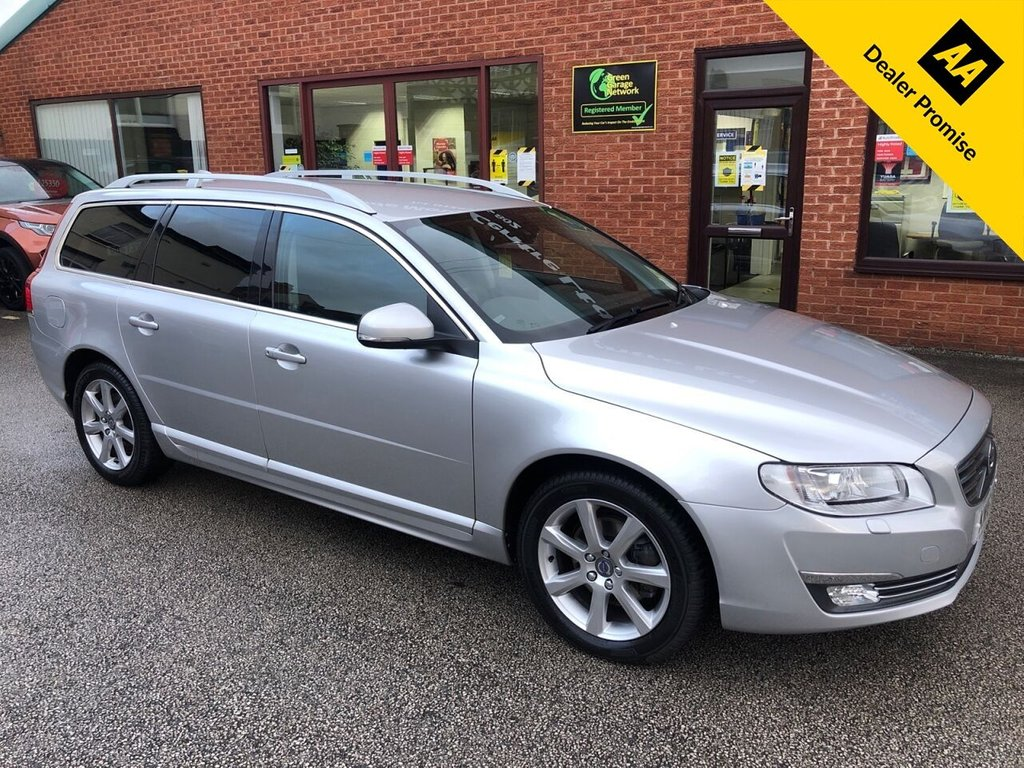 USED 2016 16 VOLVO V70 2.0 D3 SE LUX 5d 148 BHP Full Service history; Heated Seats; Reverse Sensors; Sat Nav; ONLY £30 A YEAR ROAD TAX