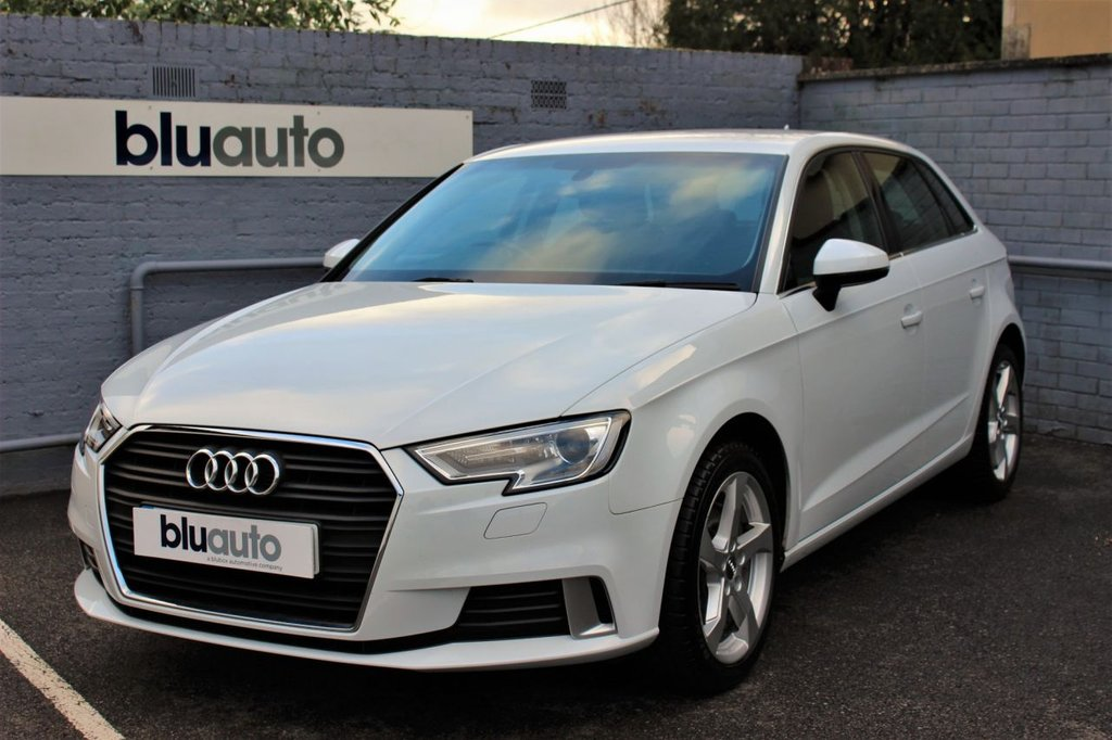 USED 2016 66 AUDI A3 1.0 SPORTBACK TFSI SPORT 5d 114 BHP 1 Owner, Audi Servicing, Rear Sensors, Cruise Control, Bang & Olufsen Sound System, Heated Seats, Voice Control