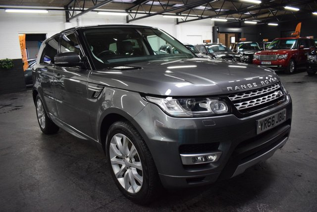 USED 2016 66 LAND ROVER RANGE ROVER SPORT 3.0 SDV6 HSE 5d 306 BHP STUNNING CONDITION - GREAT VALUE 2016/66 306 BHP 3.0 SDV6 - CORRIS GREY - ONE OWNER - 6 LANDROVER SERVICE STAMPS TO 89K MILES
