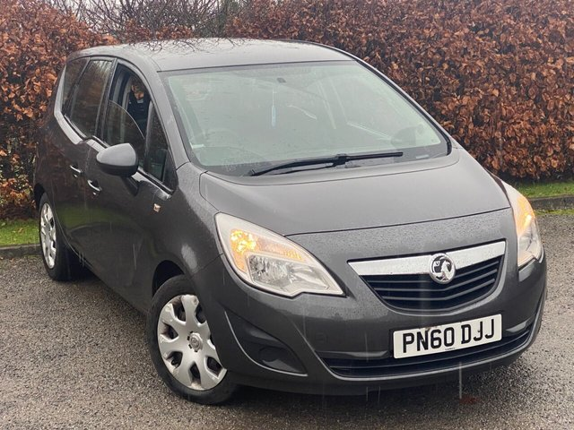 USED 2010 60 VAUXHALL MERIVA 1.4 EXCLUSIV 5d 119 BHP FANTASTIC VALUE FOR MONEY FAMILY CAR