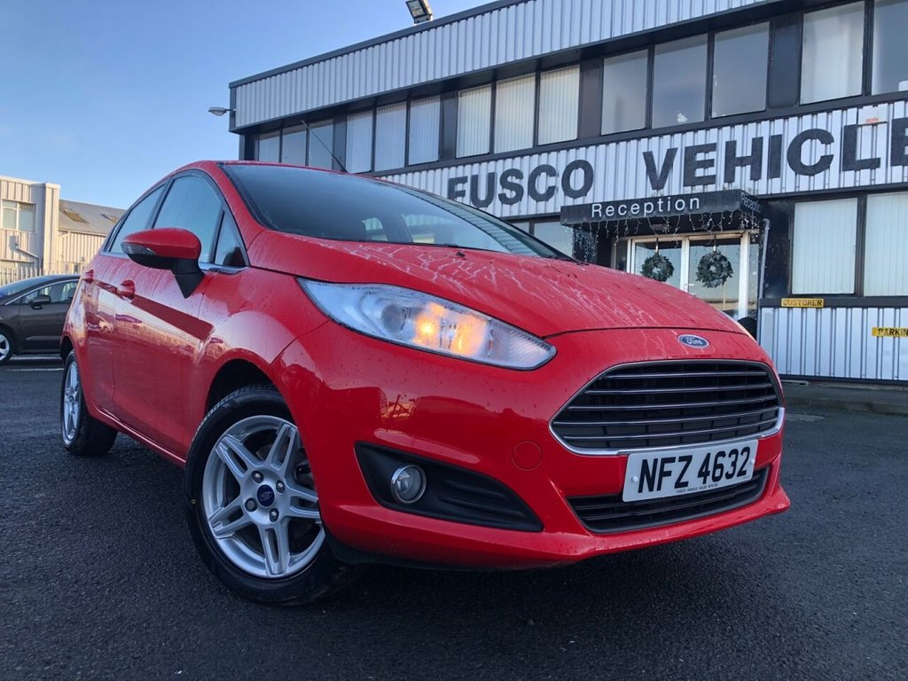 USED 2013 FORD FIESTA 1.2 ZETEC 5d 81 BHP £119 a month, T&Cs apply.