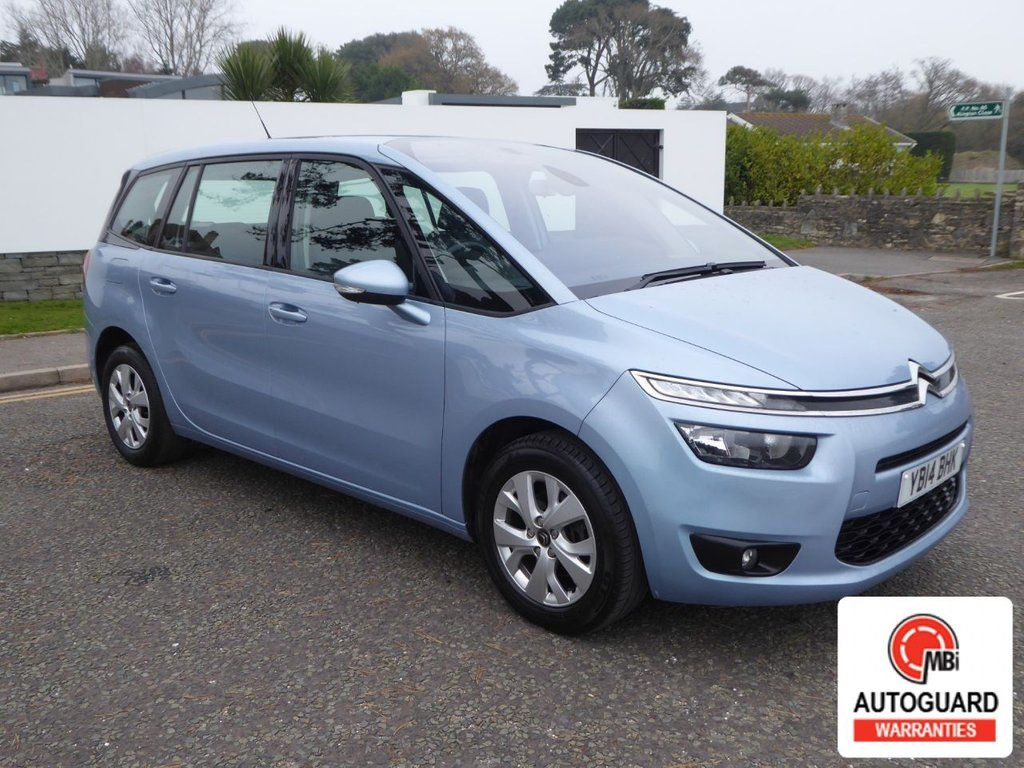 USED 2014 14 CITROEN C4 GRAND PICASSO 1.6 E-HDI AIRDREAM VTR PLUS 5d 113 BHP SUPERB 7 SEATER MANUAL