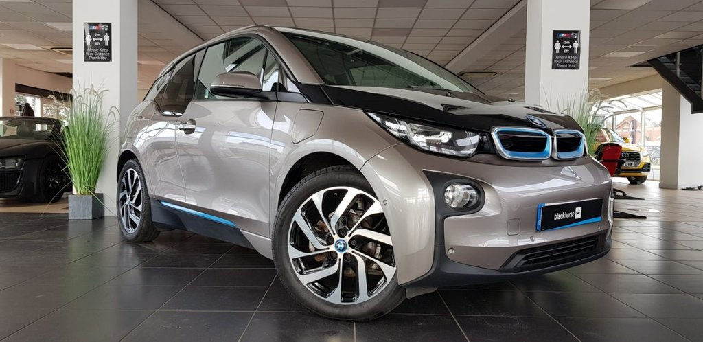 USED 2015 15 BMW I3 0.6 I3 RANGE EXTENDER 5d 168 BHP GREAT HISTORY HIGH SPEC