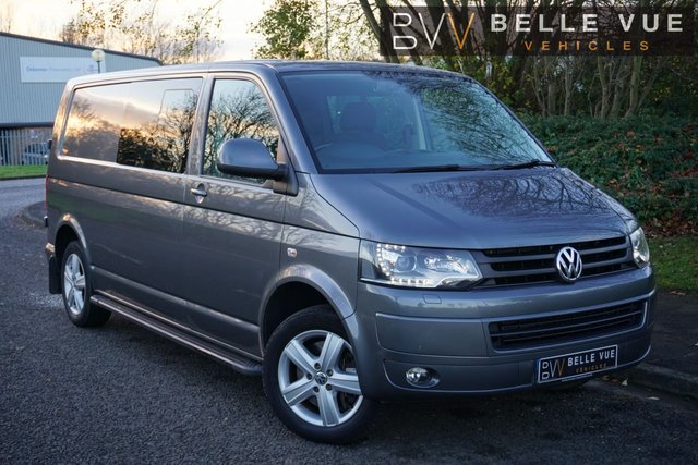 USED 2013 63 VOLKSWAGEN TRANSPORTER 2.0 T32 TDI KOMBI HIGHLINE 4MOTION 0d 178 BHP - FREE DELIVERY* *SMART MIRROR REVERSE CAMERA! CRUISE CONTROL, PRIVACY GLASS, MUST SEE!*