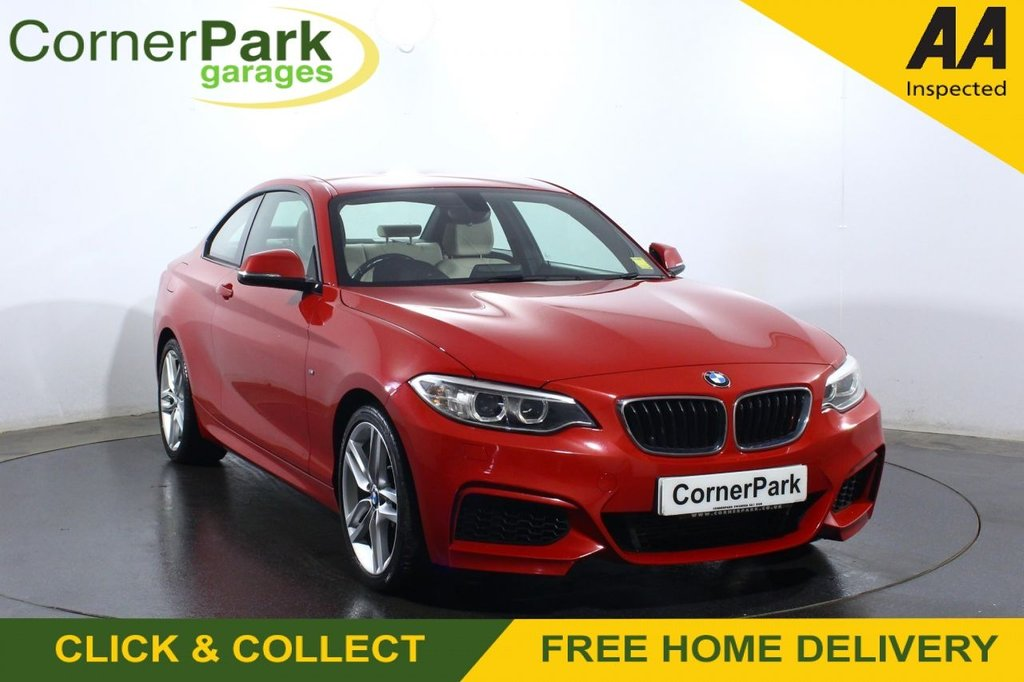 USED 2017 17 BMW 2 SERIES 1.5 218I M SPORT 2d AUTO 134 BHP COUPE