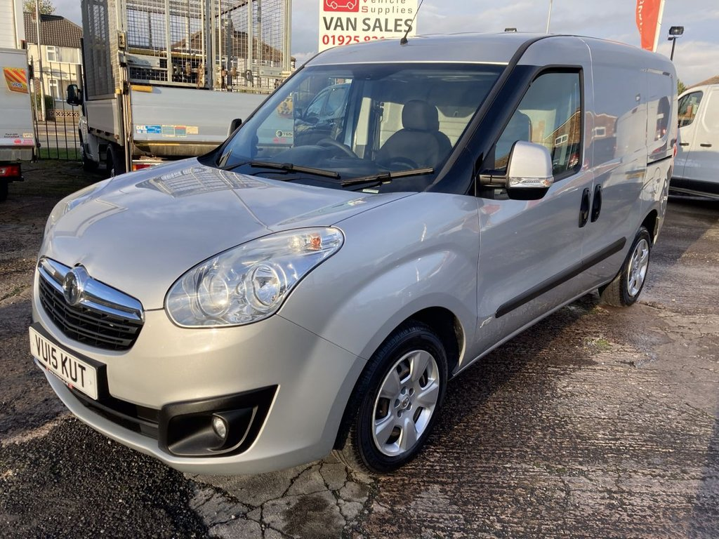 USED 2015 15 VAUXHALL COMBO VAN 1.3 2000 L1H1 CDTI S/S SPORTIVE 90 BHP TWIN SLD 1 OWNER FSH NEW MOT  FREE 6 MONTH WARRANTY INCLUDING RECOVERY AND ASSIST