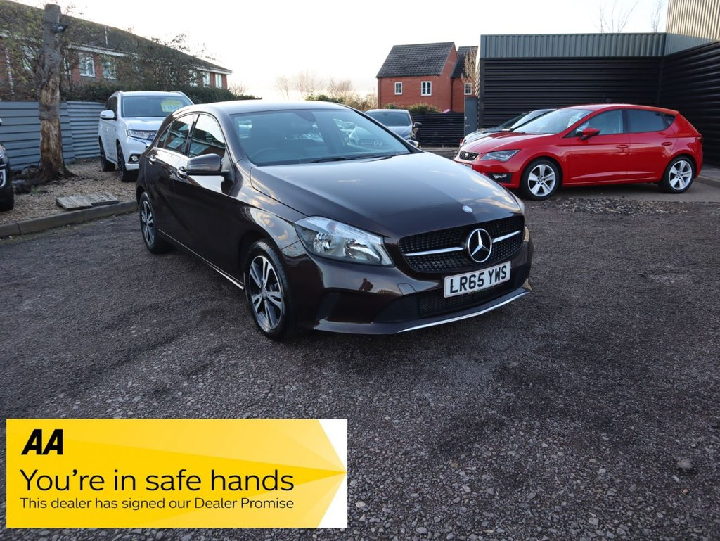 USED 2015 65 MERCEDES-BENZ A-CLASS 1.5 A 180 D SE 5d 107 BHP THE A180 MOST NOTABLE FOR FUEL ECONOMY AND WITH THE UPDATES TO STYLING, INFOTAINMENT AND SUSPENSION SETTING.