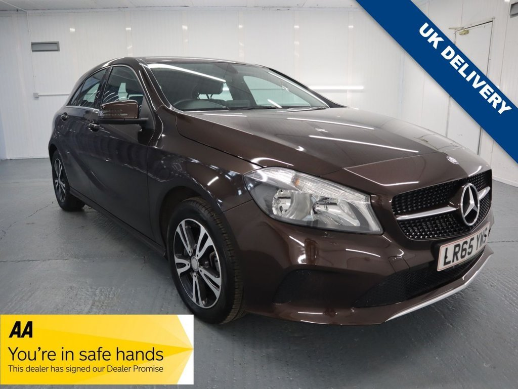 USED 2015 65 MERCEDES-BENZ A-CLASS 1.5 A 180 D SE 5d 107 BHP THIS STUNNING LOW MILEAGE A180 IS THE MOST NOTABLE FOR FUEL ECONOMY AND WITH THE UPDATES TO STYLING, INFOTAINMENT AND SUSPENSION SETTING ITS A MUST.