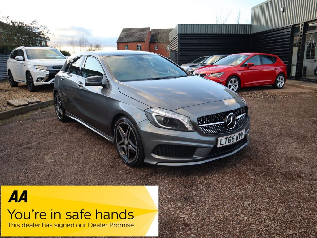 USED 2015 65 MERCEDES-BENZ A-CLASS 2.1 A200 CDI AMG NIGHT EDITION 5d 134 BHP STUNNING NIGHT EDITION A CLASS WITH FANTASTIC YEARLY MERCEDES SERVICE HISTOY AND ONE OWNER FROM NEW
