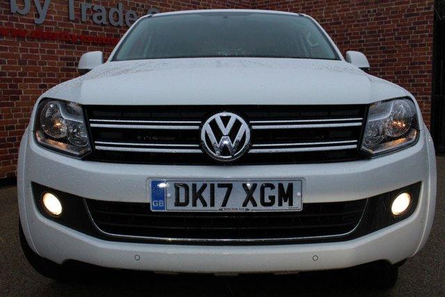 VOLKSWAGEN AMAROK at Derby Trade Cars