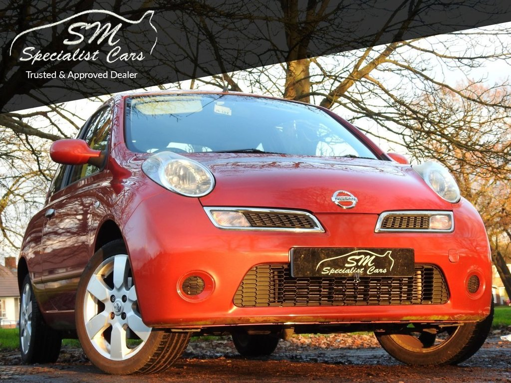 USED 2009 59 NISSAN MICRA 1.2 ACENTA 3d 80 BHP ONLY 17K FROM NEW A/C VGC