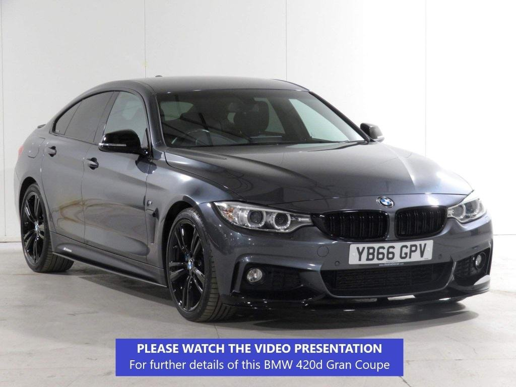 USED 2016 66 BMW 4 SERIES GRAN COUPE 2.0 420d M Sport Gran Coupe Auto (s/s) 5dr M-PLUS-PACK*SPLITFOLD*19*VAT-Q