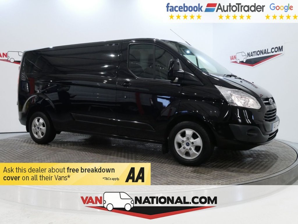 USED 2017 67 FORD TRANSIT CUSTOM 2.0 290 LIMITED 130 BHP LIMITED L2 *EURO 6 * AIR CON*LWB * EURO 6 * LWB * AIR CON * ZERO DEPOSIT FINANCE AVAILABLE *