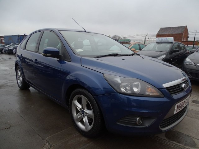 USED 2009 09 FORD FOCUS 1.6 Zetec 5dr  DRIVES WELL CLEAN ALL ROUND