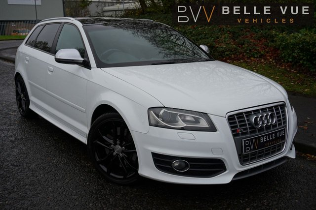 """USED 2010 10 AUDI A3 2.0 S3 QUATTRO 5d 265 BHP - FREE DELIVERY* *STUNNING 18"""" ALLOY WHEELS, SPORTS PADDLE SHIFT, REVERSE PARKING SENSORS*"""