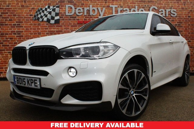 BMW X6 at Derby Trade Cars